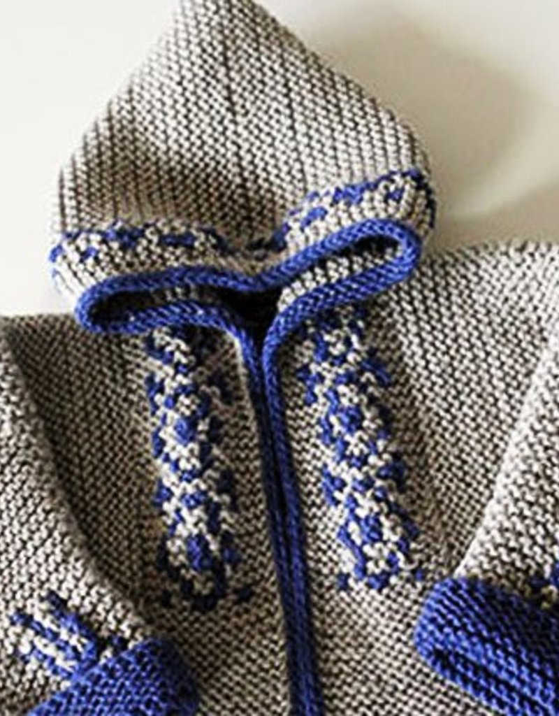 1/27/18  Elizabeth Zimmermann's Tomten Jacket and Garter Jacquard with Franklin Habit -10am-5pm
