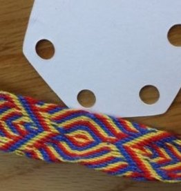 1/28/18 - Tablet Weaving: 6-Hole Weaving  10am-5pm