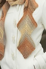 1/30/18 - Crocheted Mitered Squares Scarf