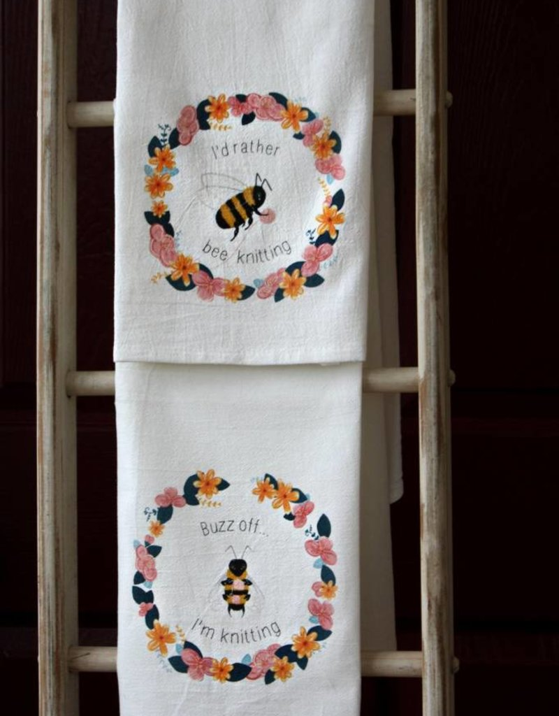 Snarky Bee Towels