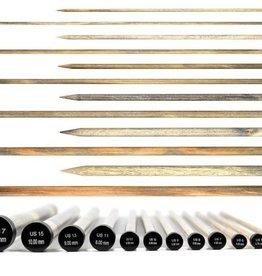 """LYKKE Driftwood Straight Needle 10"""""""