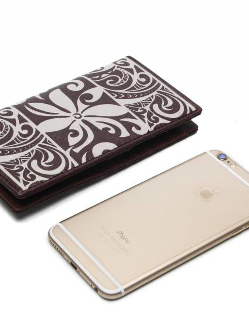 Wallet Tapa Tiare RFID Slim Brown