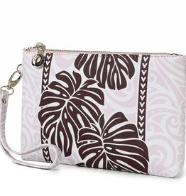 Wristlet Monstera Brown