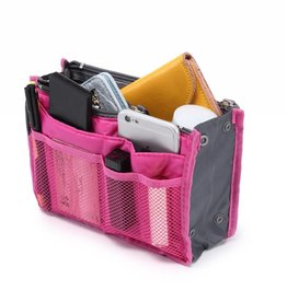 Purse Insert Dark Pink
