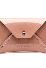 Card Case Small Shiny Light Pink
