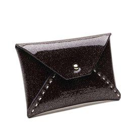 Card Case Small Shiny Black