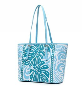 Tote Monstera Green