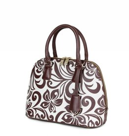 Satchel Hibiscus Brown