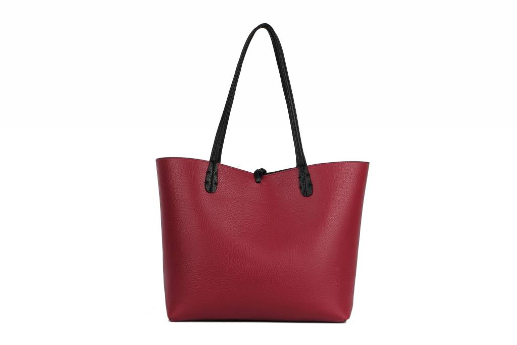 Reversible Tote Black/Red