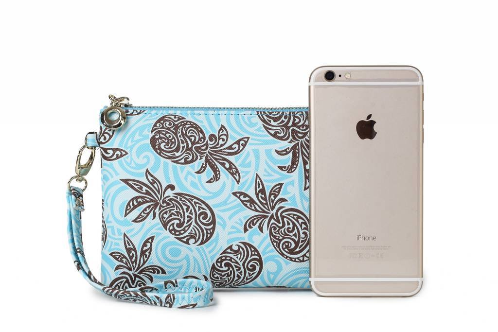 Wristlet Pineapple Blue