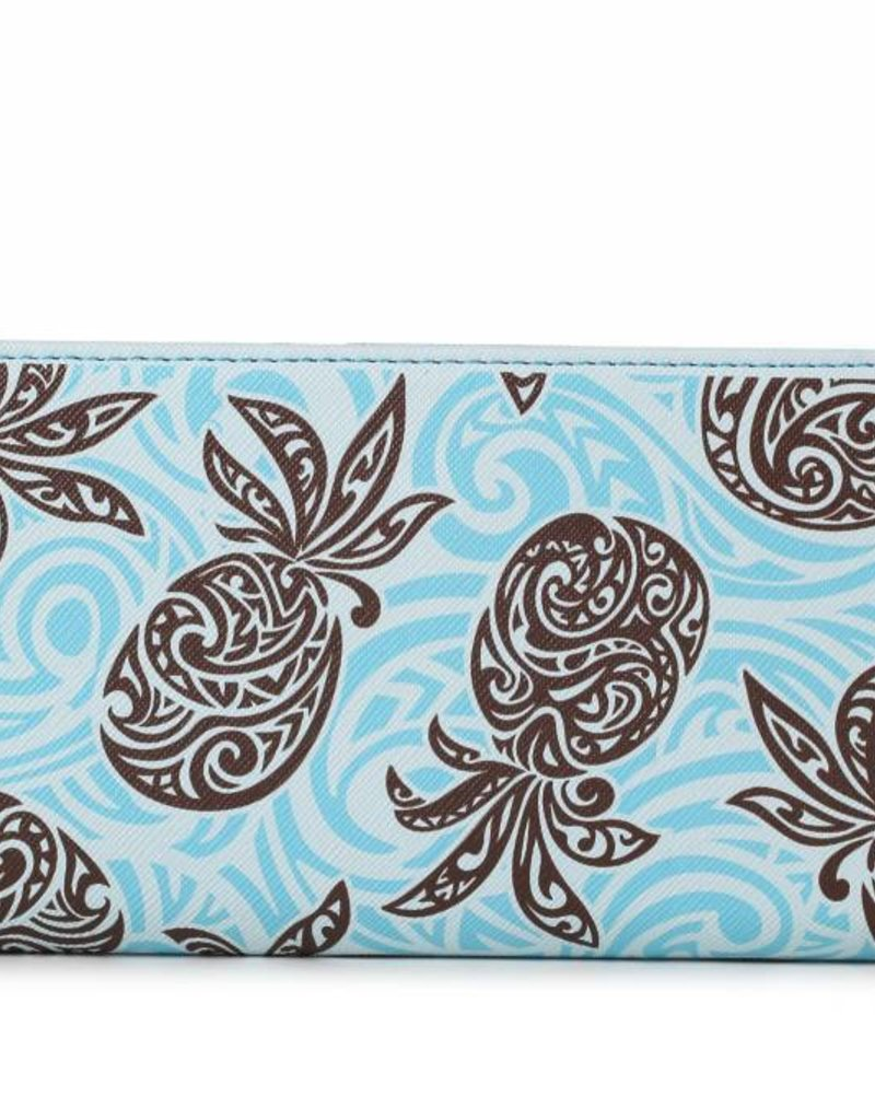 Wallet Pineapple RFID Slim Blue