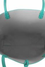 Reversible Tote Green/Grey