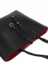 Reversible Tote Black/Red