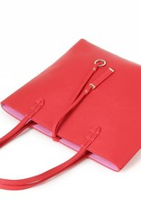 Reversible Tote Red/Pink Small