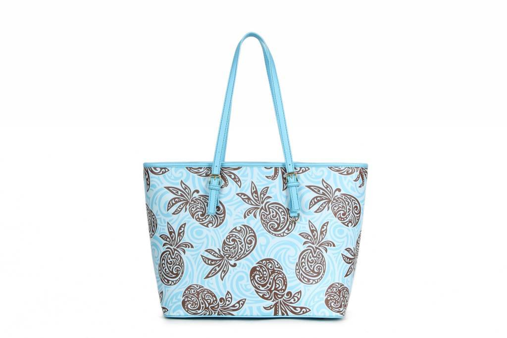 Tote Pineapple Blue