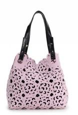 Flower Cutout Bag Lavender