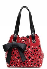 Flower Cutout Bag X-Small Valentine Red