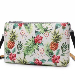 Happy Wahine Crossbody Marisa Vintage Pineapple Beige