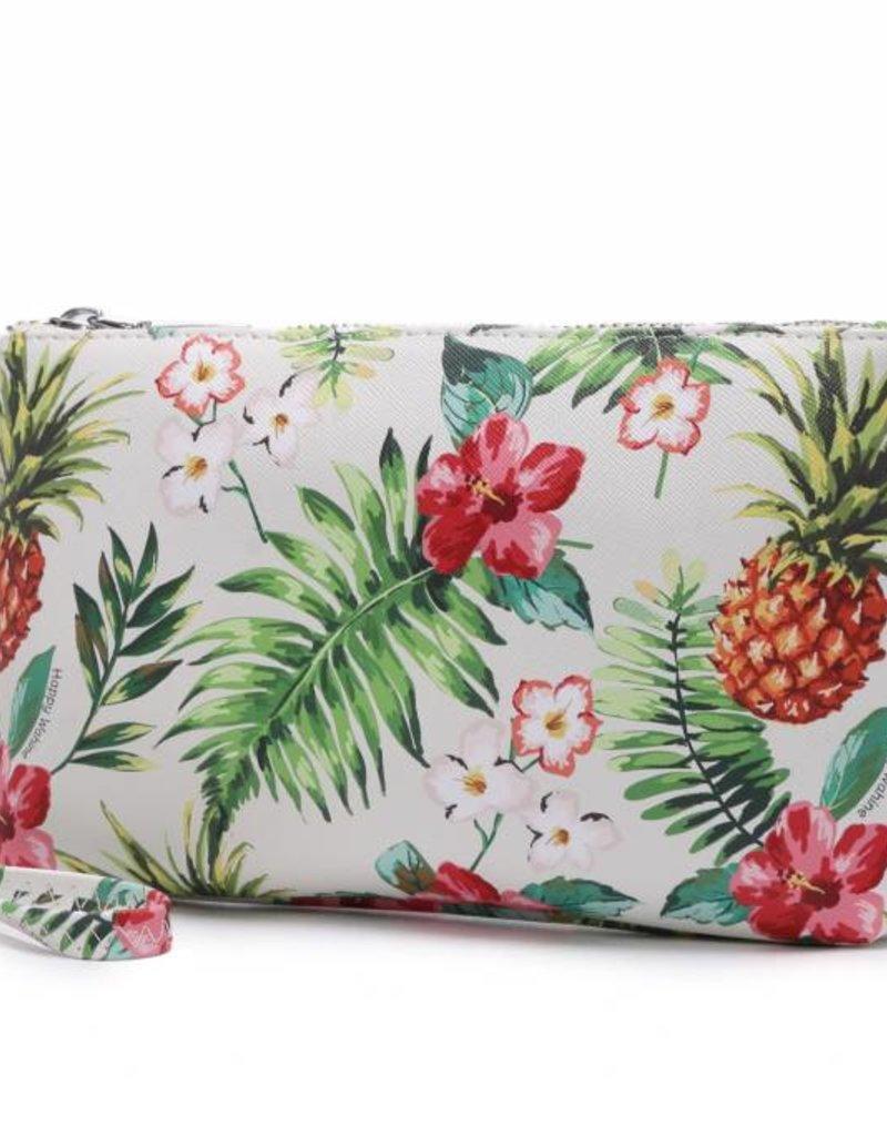 Wristlet Melody Pineapple Vintage Beige