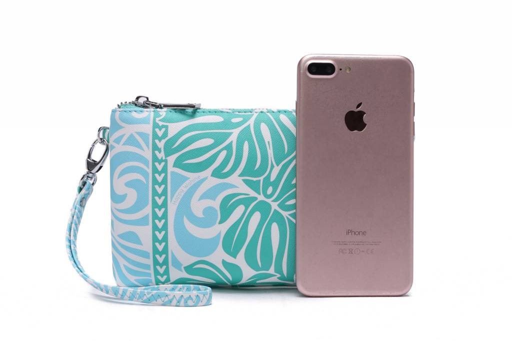 Wristlet Melody Monstera Green