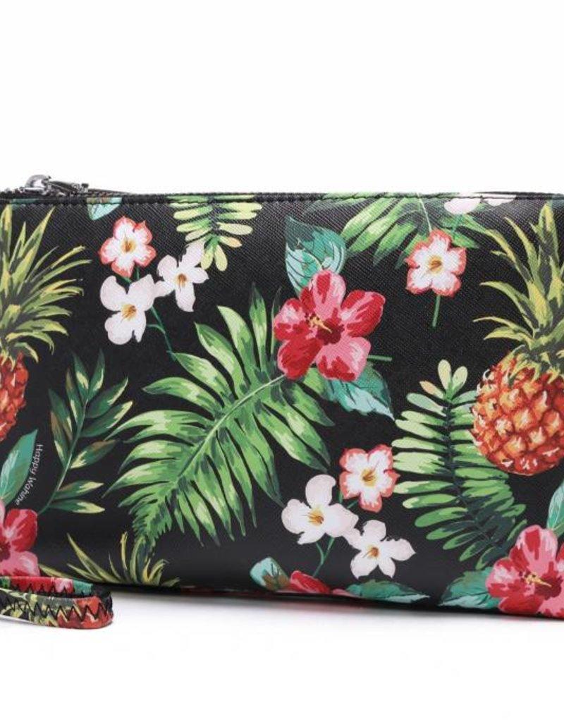 Wristlet Melody Pineapple Vintage Black