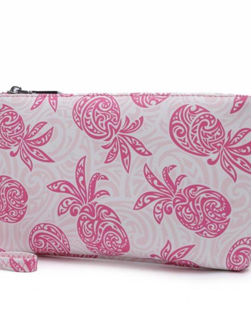 Wristlet Melody Tapa Pineapple Pink
