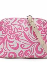 Crossbody Lori Hibiscus Pink