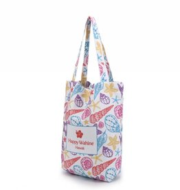 Happy Wahine Everyday HI Tote Shells Orange