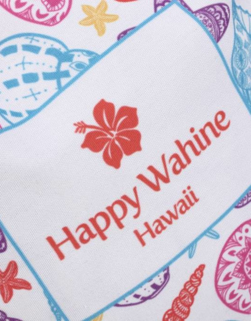 Happy Wahine Everyday HI Tote Shells Orange