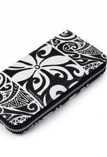 Wallet Kaylee Tapa Tiare Black