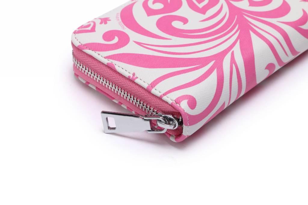 Wallet Kaylee Hibiscus Pink