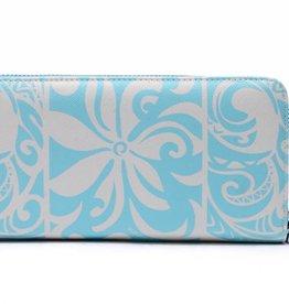 Wallet Kaylee Tapa Tiare Blue