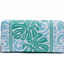 Wallet Kaylee Monstera Green