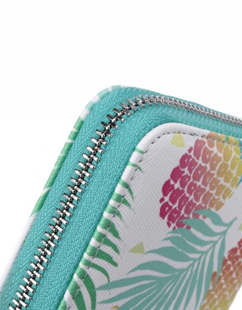 Wallet Kaylee Spring Pineapple Green