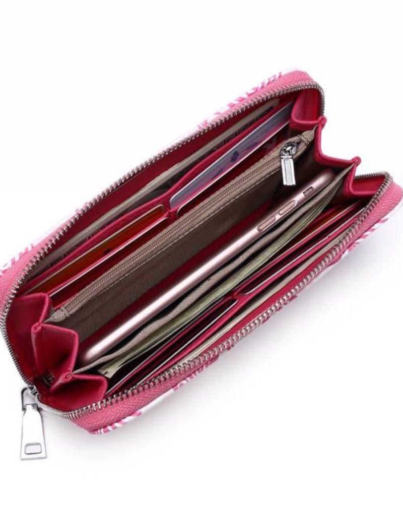 Wallet Kaylee Tapa Pineapple Pink