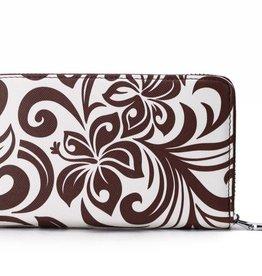 Wallet Chloe Hibiscus Brown