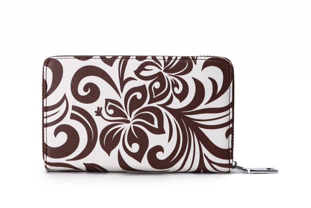 Wallet Chloe Hibiscus Brown