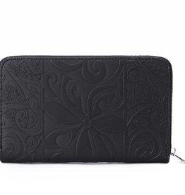 Wallet Chloe Tapa Tiare Embossed Black