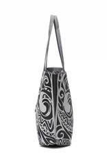 Reversible Tote Nancy Tapa Tiare Grey Large