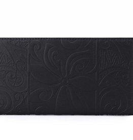 Wallet Teyla Tapa Tiare Embossed Black
