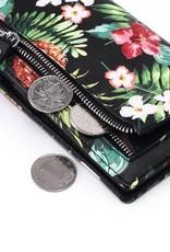 Wallet Teyla Pineapple Vintage Black