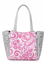 Happy Wahine Handbag Amy Hibiscus Pink Large