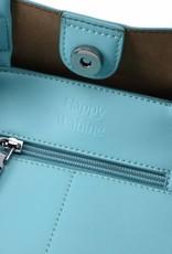 Handbag Amy Tapa Tiare Blue Large