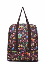Nylon Sophie Duffle Luau Brown