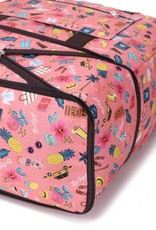Nylon Sophie Duffle Voyage Pink