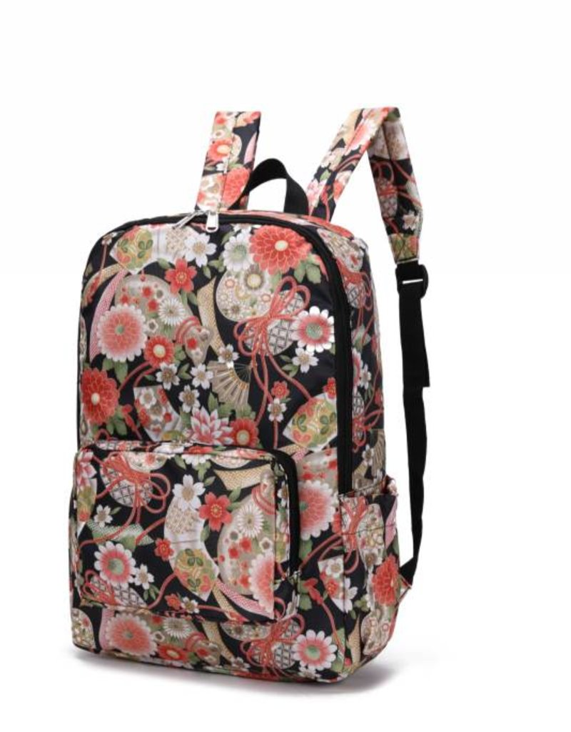 Nylon Song Backpack Asian Black