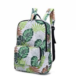 Nylon Song Backpack Monstera White