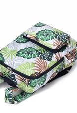 Nylon Song Backpack Monstera White