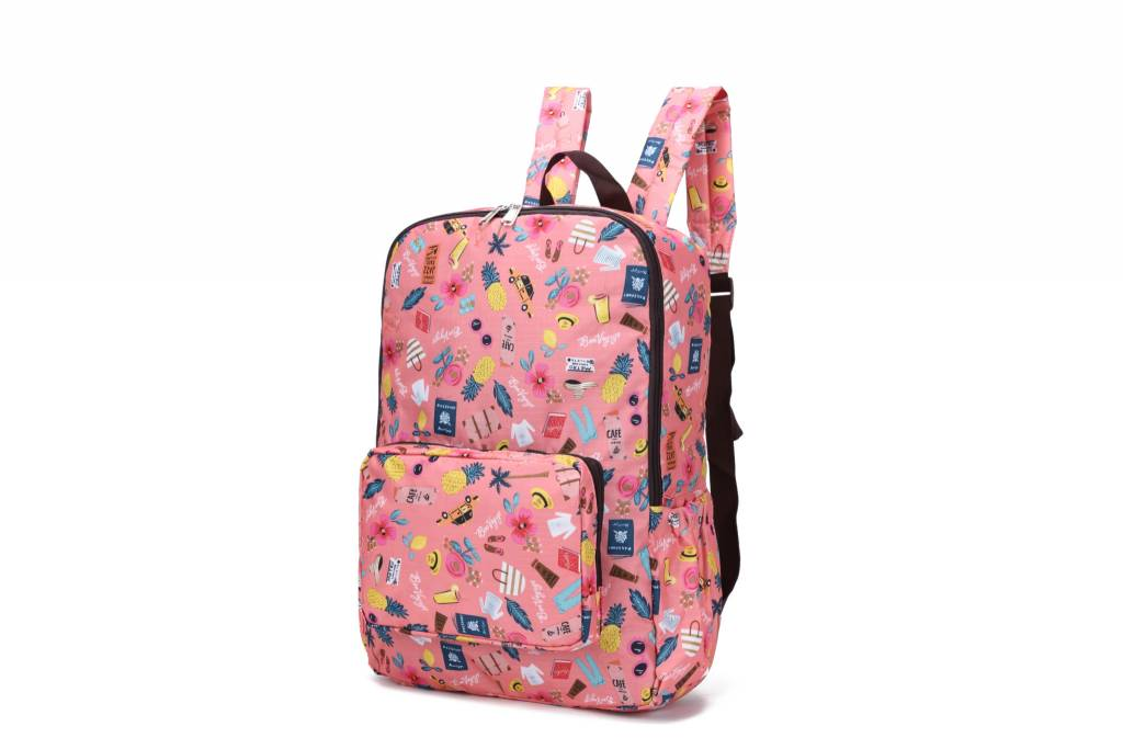 Nylon Song Backpack Voyage Pink
