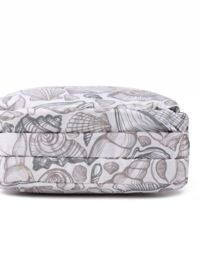Nylon Keira Crossbody Seashell Grey
